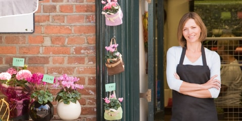 business owner covered with business insurance
